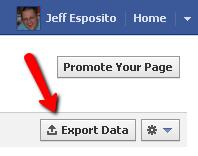 Export Facebook Insights